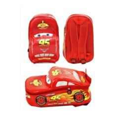 Tas Ransel Sekolah Anak TK Cars On The Road 3D TK