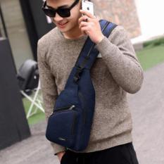 Tas Ransel Tas Waistbag Tas Selempang Tas Gadget Carboni Size 10 Inchi Bisa Ransel Tali Satu Dan Ransel Tali Dua - Dark Blue