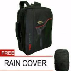 Review Toko Tas Ransel Usa 3In1 Ransel Selempang Jinjing Size 17 123 Black Raincover