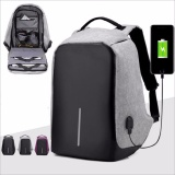 Jual Tas Ransel Usb Port Charger Smart Backpack Anti Air Anti Maling Thief Baru