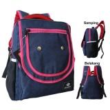 Tas Ransel Wanita Backpack Fashion Tas Hangout Kuliah Sekolah Jalan Diskon Akhir Tahun