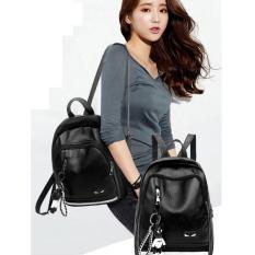 Tas Ransel wanita Fendii hitamm - Backpack tas punggung cewek import TP7 TERLARIS