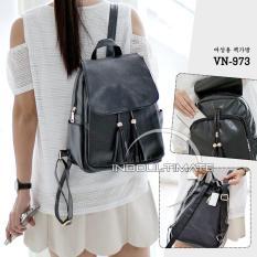 Promo Ultimate Tas Ransel Wanita Vn 973 Tas Cewek Backpack Korea Import Batam Murah Branded Cantik Ultimate