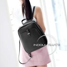 Toko Tas Ransel Tas Selempang Tas Jinjing Tas Fashion Wanita Tas Trendy Im Fs Ym 9011 Tas Backpack Black Lengkap
