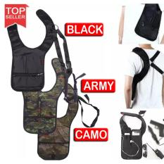 Tas Selempang Anti Maling Fbi Polisi Tactical (Travel Pocket, Shoulder Bag Anti Theft)