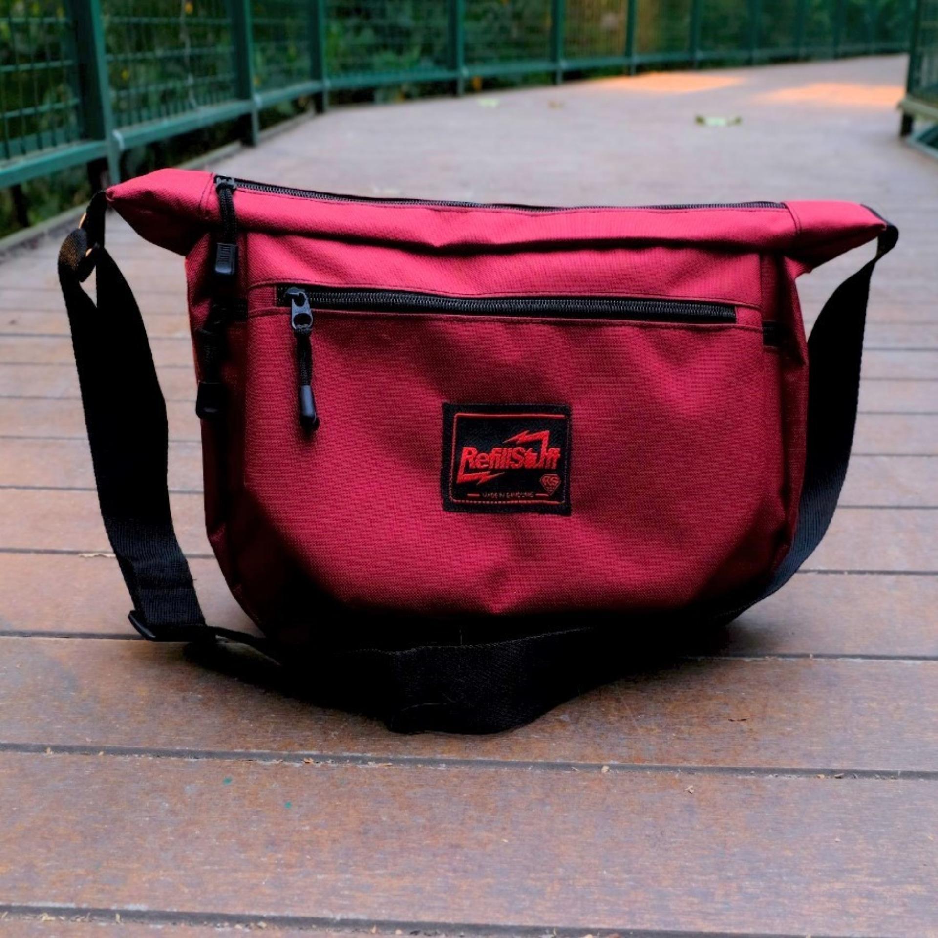 Harga Promo Metric Sling Bag Korea Tas Ransel Tali Satu Waistbag Waisbag Atau Selempang Best Seller Bahu Waistpack Unisex Rf