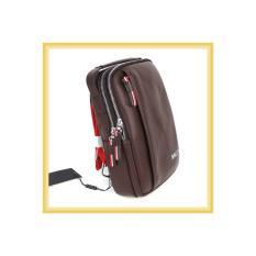 TAS SELEMPANG Bodybag Import PREMIUM BALLY STT BROWN