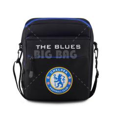 Tas Selempang Bola Pria Chelsea FC  - The Blues - Black