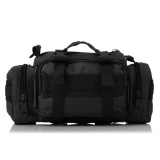 Silver Knight Tas Selempang Dan Jinjing Militer Army Tactical Sling Bag Or Waist Pack For Military Travel Black Original