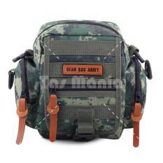 Tas Selempang Gear Bag Army U.S.A Military - Green Hawk Tas Pria Tas Messenger Tas Slempang Crossbody Man Tas Fashion Pria