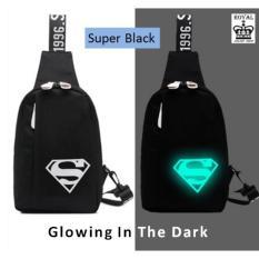 Tas Selempang Glowing In The Dark Gambar Super