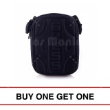 Jual Tas Selempang Gress Slingbag Mini Pouch Black Buy One Get One Tas Pria Tas Messenger Tas Slempang Crossbody Man Tas Fashion Pria Di Bawah Harga