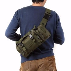 Beli Tas Selempang Import Tactical Army Sm 317 Green Seken