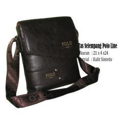 Beli Tas Selempang Kulit Polo Line Import 33908 S Casual Pria Cicilan