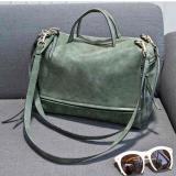 Tas Selempang Kulit Shoulder Bag Wanita Army Green Asli