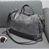 Beli Tas Selempang Kulit Shoulder Bag Wanita Dark Gray Baru