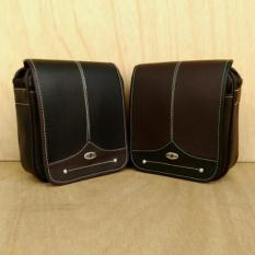 Spesifikasi Tas Selempang Polo Oaf3 Hitam Coklat Online