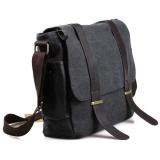 Harga Tas Selempang Pria Korean Canvas Messenger Bag Black Gray Universal Dki Jakarta