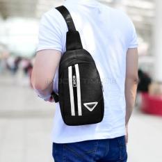 Diskon Tas Selempang Pria Kualitas Import Unisex Tas Punggung Slempang Sling Bag Fs Tb 9356 Black
