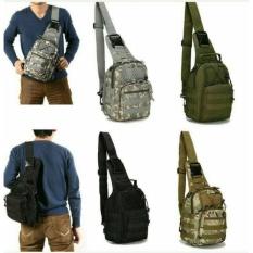 Tas Selempang Pria Militer - Army Tactical Sling Bag - Babamu - Random