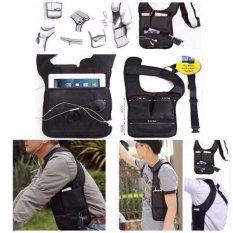 Jual Tas Selempang Pria Polisi Fbi Multifungsi Gadget Pundak Sletting Ykk Universal Branded