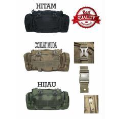Tas Selempang Slempang Army Tactical Coklat Muda Dki Jakarta Diskon 50