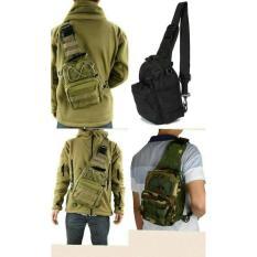 Spesifikasi Tas Selempang Slempang Cowok Pria Tote Bag Army Sling Waist Ct065 Dan Harganya