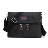 Spesifikasi Tas Selempang Slempang Kanvas Pria Impor Import Slingbag Sling Bag Black Terbaru