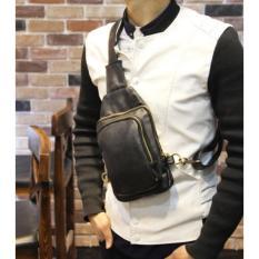 Jual Tas Selempang Slempang Pria Kulit Premium Sling Bag Import Tas Di Jawa Barat