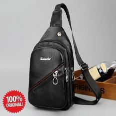 TAS SELEMPANG SLING BAG KULIT IMPORT PRIA WANITA T020