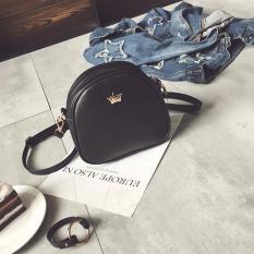 Diskon Tas Selempang Wanita Crown Black Tas Fashion Import