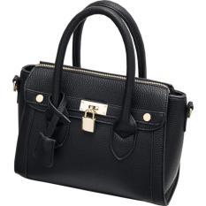 Toko Tas Selempang Wanita Jimshoney Tiffany Bag Black Terlengkap Indonesia