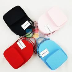 Tas Selempang Wanita / The Water Cube Silicone Daypack Bag Miniso