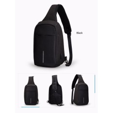 Tas Anti Maling Slempang / Selempang  With Theft USB Waterproof