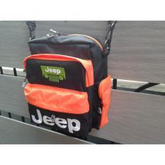 Tas slempang jeep offroad 4x4 bahan cordura full bordir