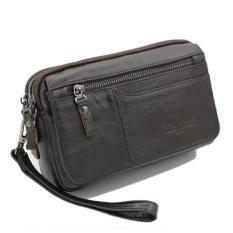 Beli Tas Tangan Kulit Cheersoul 2249 Coklat Hangbag Pria Handbag Wanita Yang Bagus