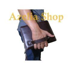 Tas Tangan Kulit/Hand Bag/Clutch/Pria/Wanita/Asli Kulit/Premium/Garut - A33bbc