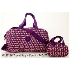 Tas Travel Pouch Kipling Travel Bag with Pouch Bag 2112 - 15