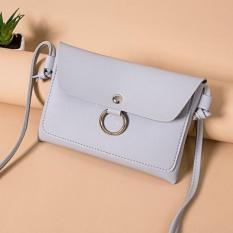 Korean Fashion Style Babosarang Tas Wanita Batam Clutch Simple Korean Fashion Casual Soft Leather BS24