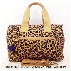 Tas Wanita Fashion Nagato Bag 2F 6091 16 Leopard Fashion Diskon 40