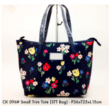 Tas Wanita Import Fashion Small Trim Tote Bag 096 13 Hitam Fashion Diskon