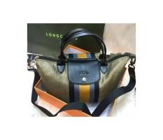 tas wanita import Longchamp ruban bronze - semprem