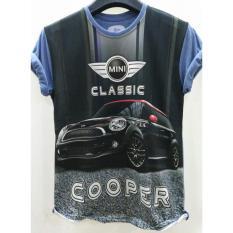 Tas Wanita Kaos Full Print Thailand 3D Otomotif Mini Cooper - Promo Terbatas