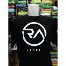 Tas Wanita Kaos Oblong Ra Jeans(Hitam)/T-Shirt Ra Jeans - Promo Terbatas