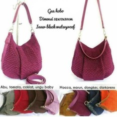 Tas Wanita Rajut Hobo Shoulder Bag Fashion  Handmade Asli Jogja