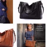 Jual Tas Wanita Zara Basic Import Hitam Tas Fashion Import Online