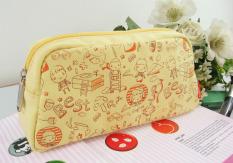 Tas Yang Sangat Baik Cerita Korea Fashion Style Kain Rajut Tas Travel Tas HP (Kampus Kesenangan A0303013)