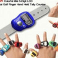 Tasbih Digital Mini Finger Counter Penghitung Digital Tally Counter Penghitung Survei Barang Mini M