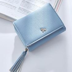 Jumbai Zipper Dompet Wanita untuk Coin Card Arus Faktur Fashion Lady Kecil Dompet-Intl