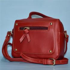 Beli Taswanita Tas Wanita Tas Selempang Wanita Tas Bahu Slingbag Slingbag Shoulder Bag Wanita Casandra 01 Merah Terbaru